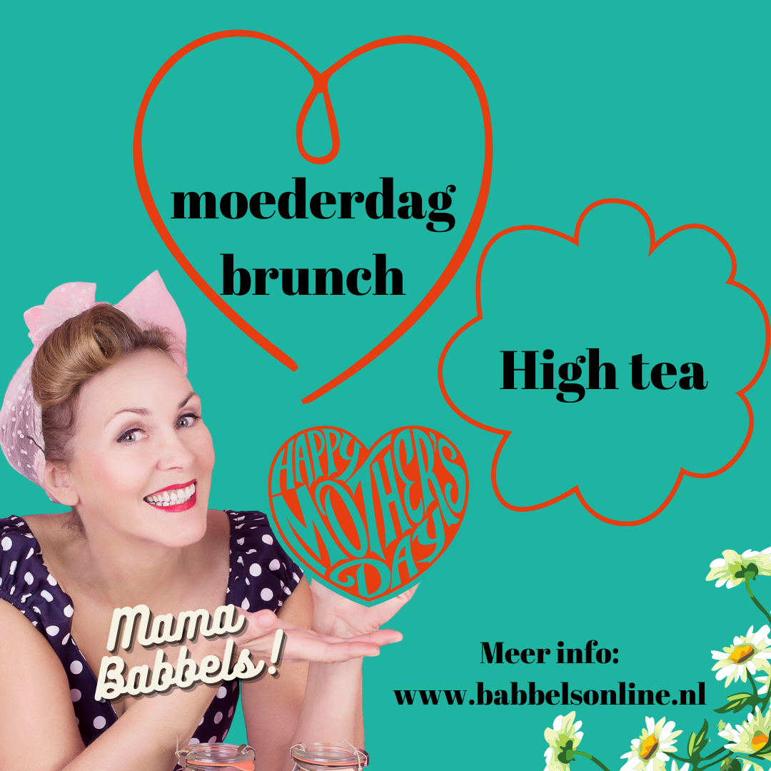 Moederdag high tea